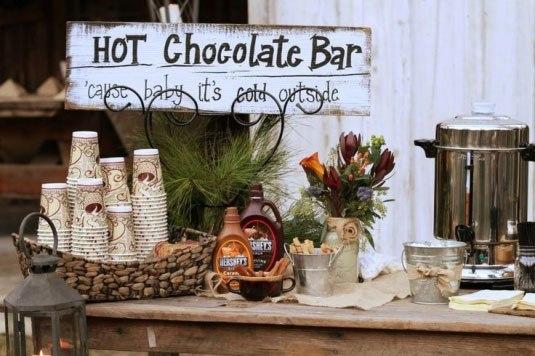 goryachij-shokolad-na-svadbe «Шоколадный бар» - замена привычному Кенди Бару