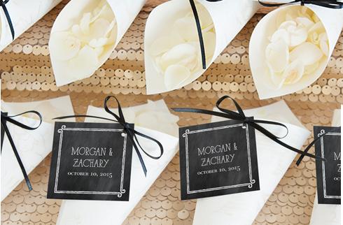 Мастер-класс: конфетти для свадебной церемонии