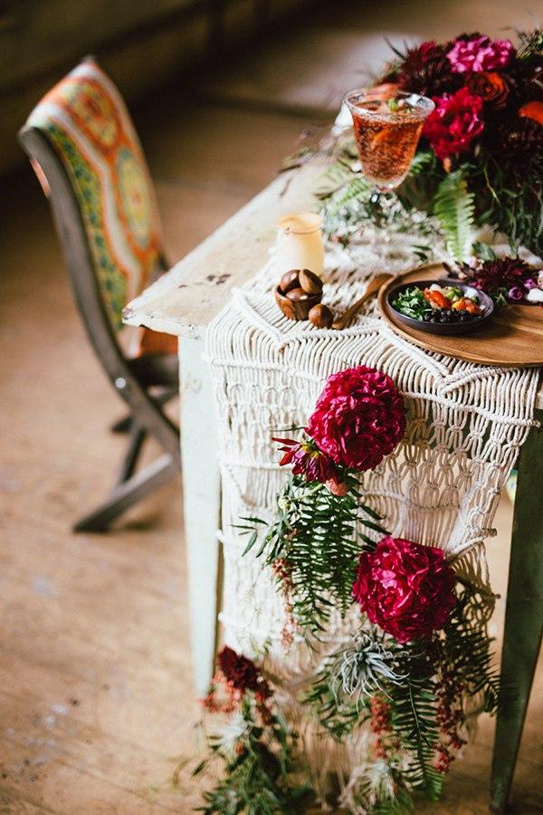 makrame-v-svadebnom-dekore-5 Макраме в свадебном декоре-необычный и романтичный свадебный декор.