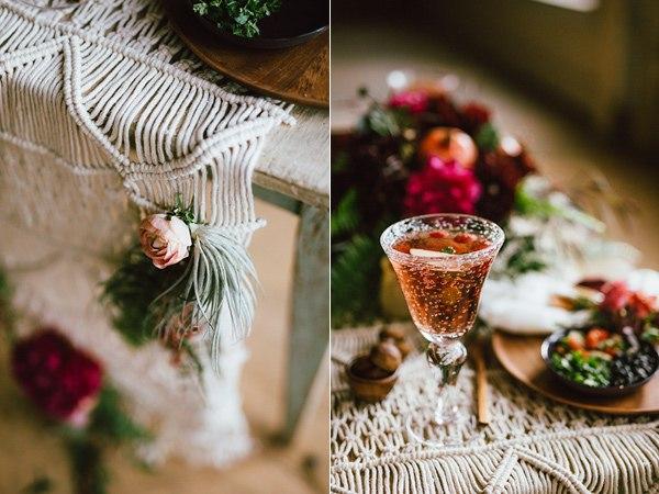 Макраме в свадебном декоре-необычный и романтичный свадебный декор.