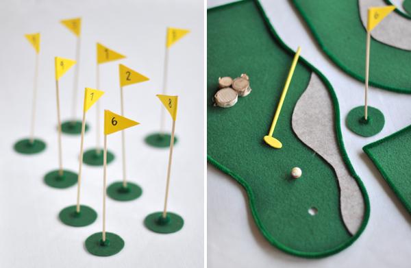 Свадебный мастер-класс: настольный гольф