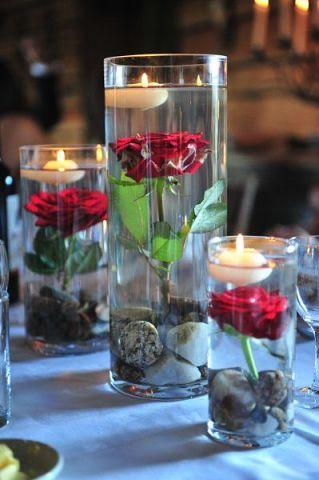 plavayushhie-svechi-na-svadbu-3 Плавающие свечи в декоре свадебного торжества