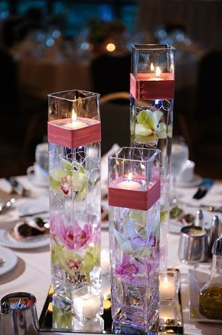 plavayushhie-svechi-na-svadbu-5 Плавающие свечи в декоре свадебного торжества