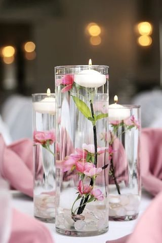 plavayushhie-svechi-na-svadbu-7 Плавающие свечи в декоре свадебного торжества