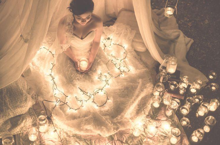 Световой декор в оформлении свадебного торжества