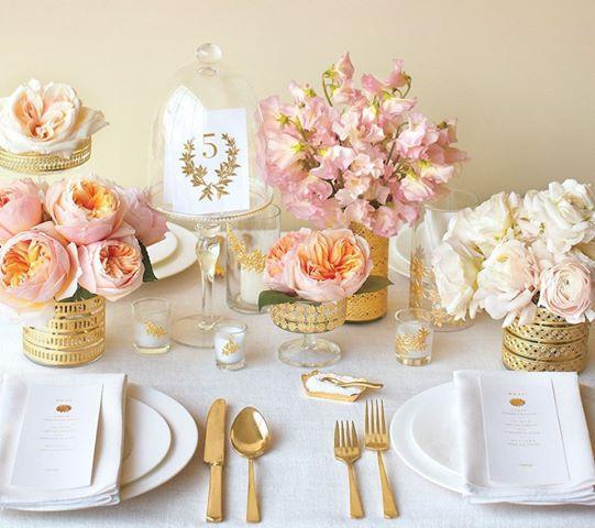 zolotye-elementy-v-svadebnom-dekore-4 Золотые элементы в декоре свадьбы