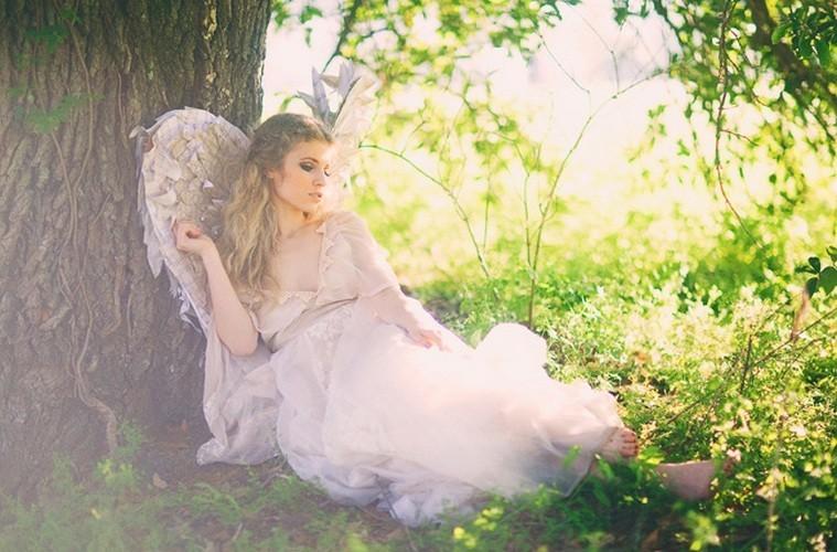 101 Мастер-класс: ангельские крылья для невесты
