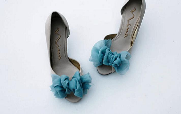 Мастер-класс: элегантное украшение для свадебных туфелек