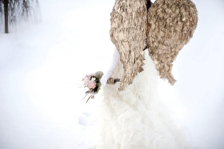 Мастер-класс: ангельские крылья для невесты