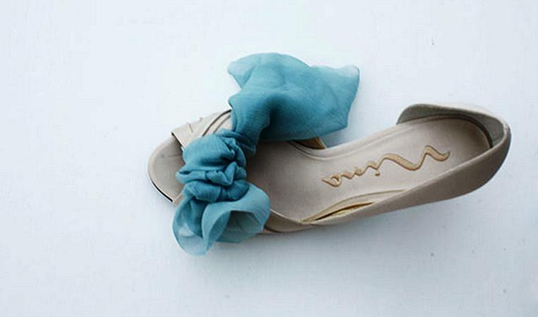 5 Мастер-класс: элегантное украшение для свадебных туфелек