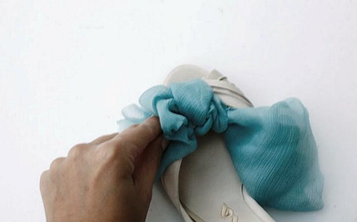 62 Мастер-класс: элегантное украшение для свадебных туфелек