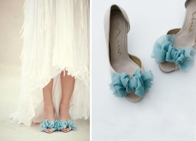 71 Мастер-класс: элегантное украшение для свадебных туфелек