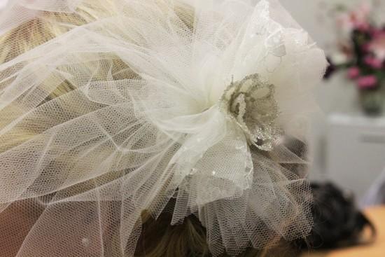 Мастер-класс: нежная вуалетка для невесты