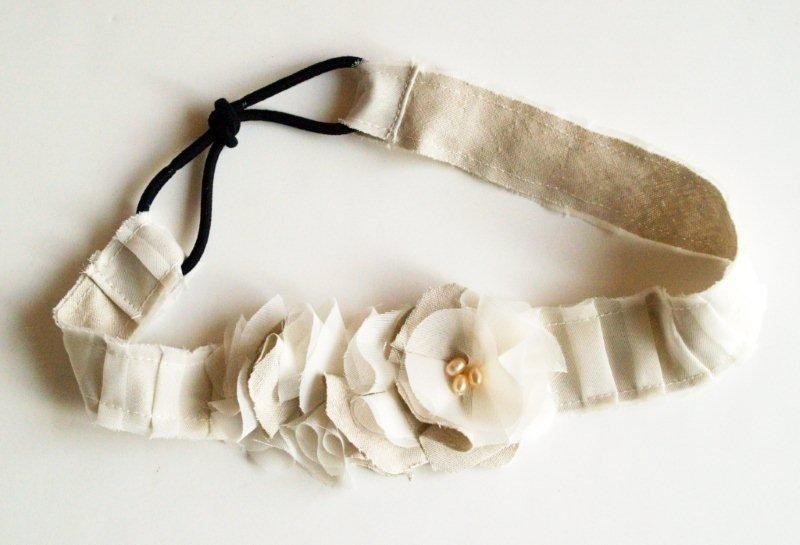 Milyj-obodok-dlya-nevesty Мастер-класс: миленький ободок в винтажном стиле