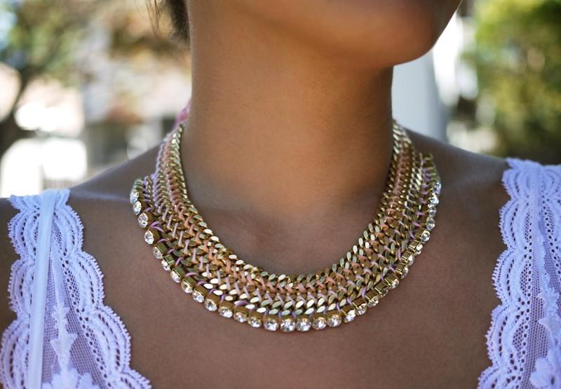 Мастер-класс: роскошное ожерелье для невесты собственными руками