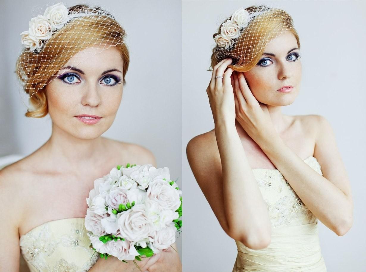 Vualetka Мастер-класс: нежная вуалетка для невесты