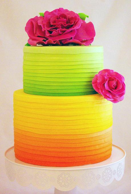 YArkie-svadebnye-torty2 Яркие свадебные торты