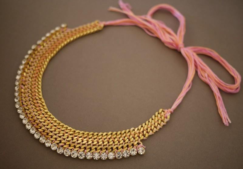 gotovo Мастер-класс: роскошное ожерелье для невесты собственными руками