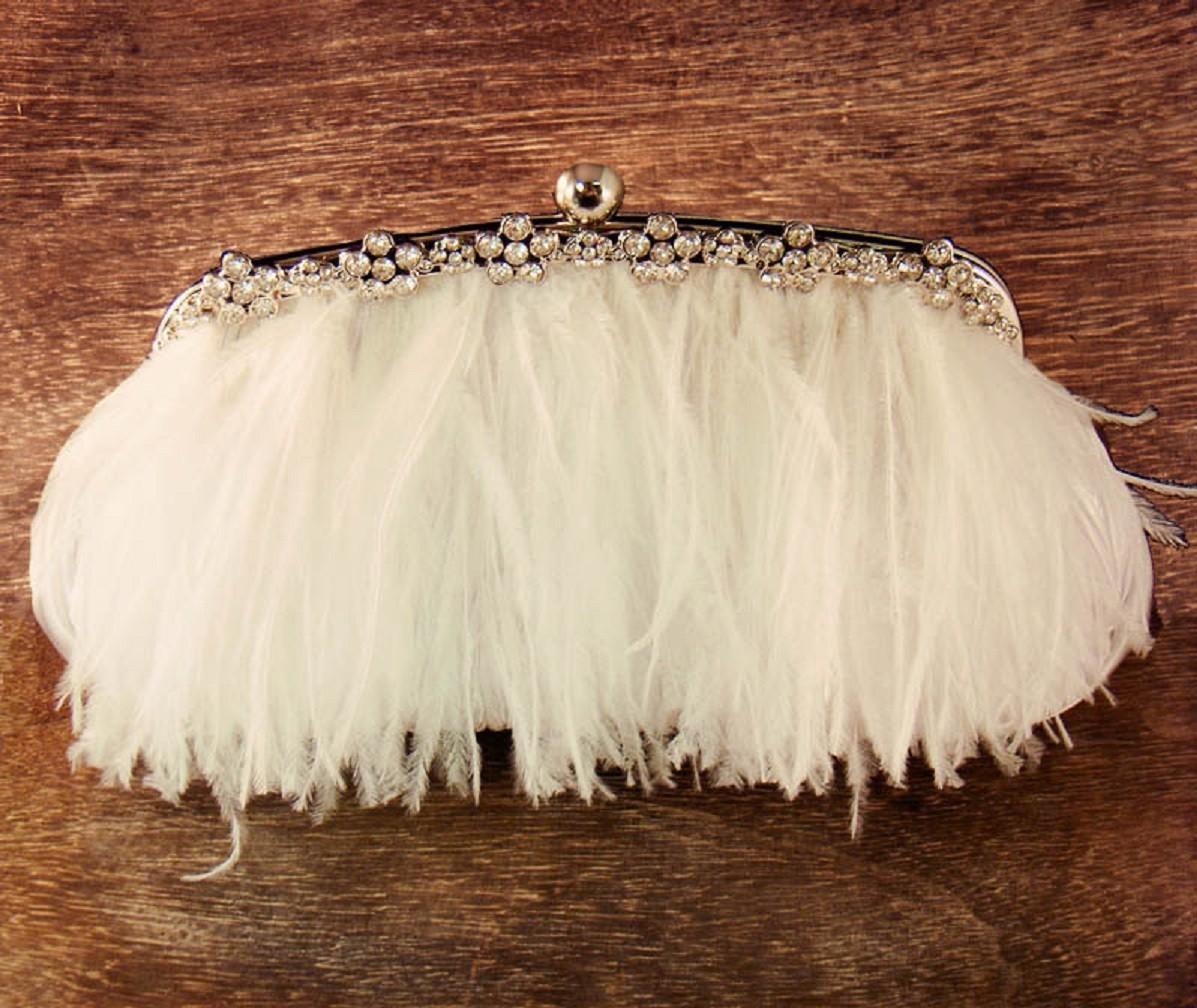 klatch-iz-perev Мастер-класс: изящная сумочка с перьями для невесты
