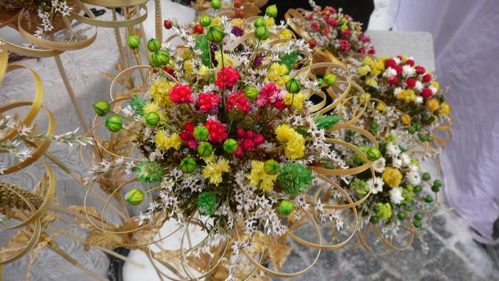osennij-svadebnyj-buket-s-verboj Тренды свадебной флористике в 2015 году