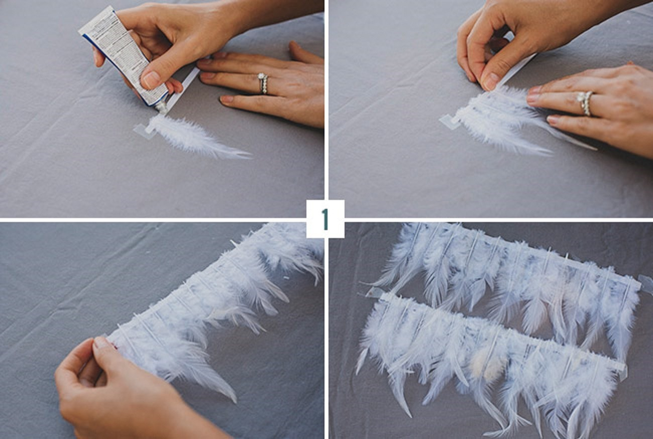 predvaritelnaya-podgotovka Мастер-класс: изящная сумочка с перьями для невесты