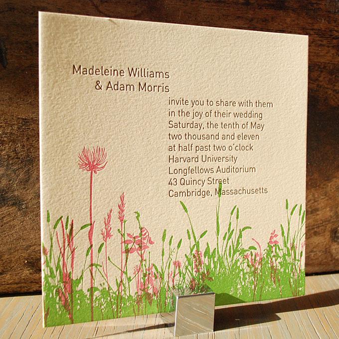 priglashenie-na-svadbu-s-tsvetochnymi-motivami Как использовать цветочные мотивы при оформлении весенней свадьбы