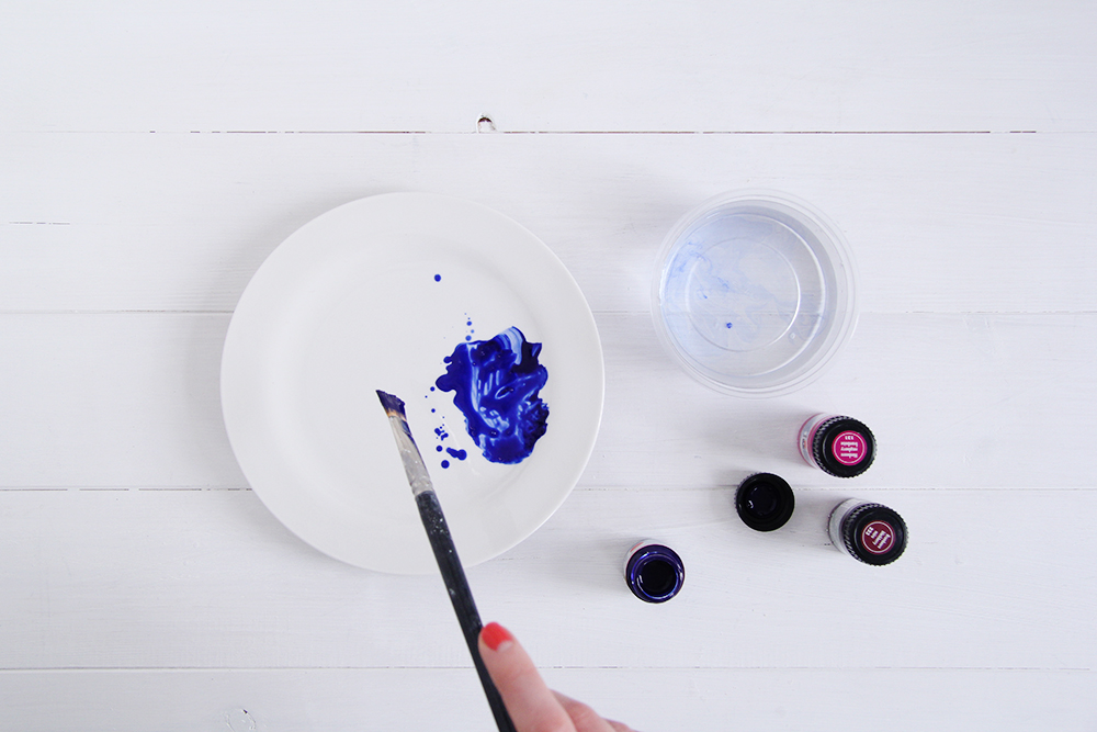 raspisnye-tarelki5 Свадебный мастер-класс: расписные тарелки
