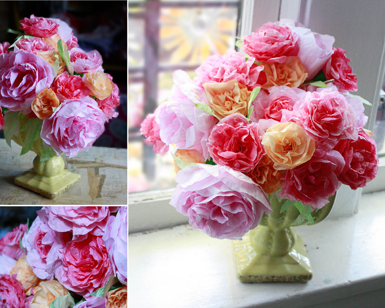 Свадебный мастер-класс: розы из фильтров для кофе