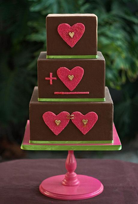 serdtse5 Тематические свадебные торты: сердце