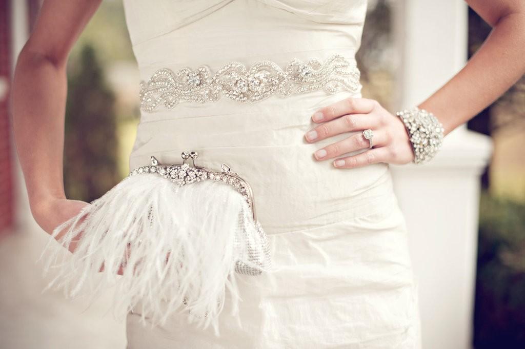 sumochka-nevesty Мастер-класс: изящная сумочка с перьями для невесты