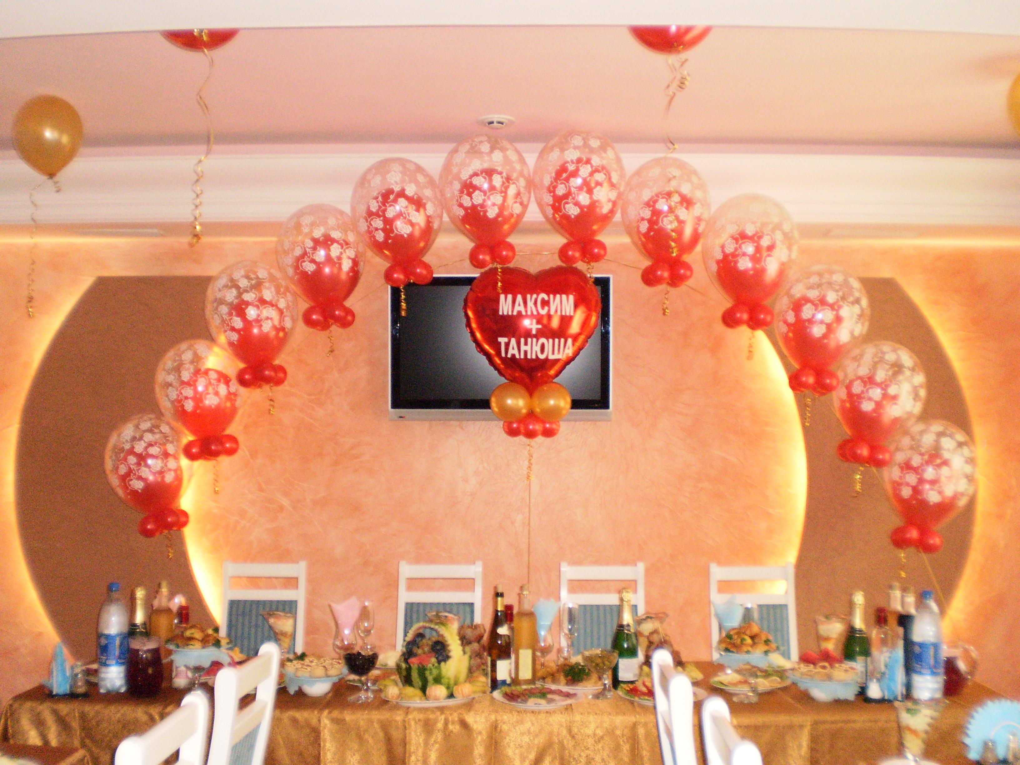 Свадебные поздравления на воздушных шарах