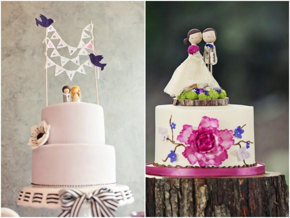 svadebnye-toppery-na-tort Свадебные топперы для торта, на чем остановить свой выбор