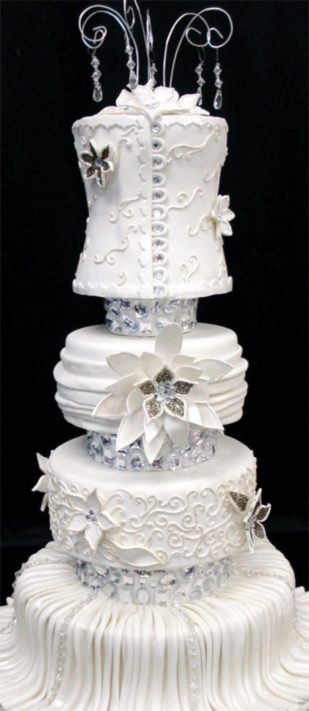 tort-so-strazami-i-rospisyu «Ювелирные» свадебные торты идеальный вариант для роскошной свадьбы