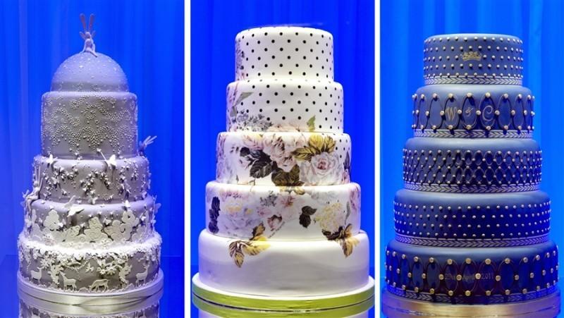 «Ювелирные» свадебные торты идеальный вариант для роскошной свадьбы