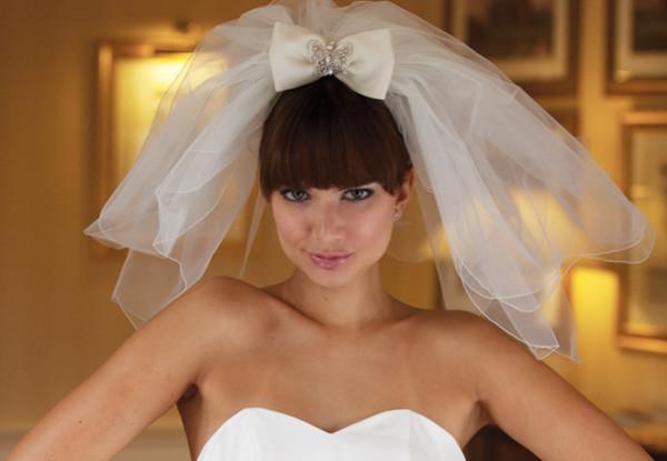 bant-i-fata Свадебная прическа с бантом- смело украшаем прическу на свадьбу.