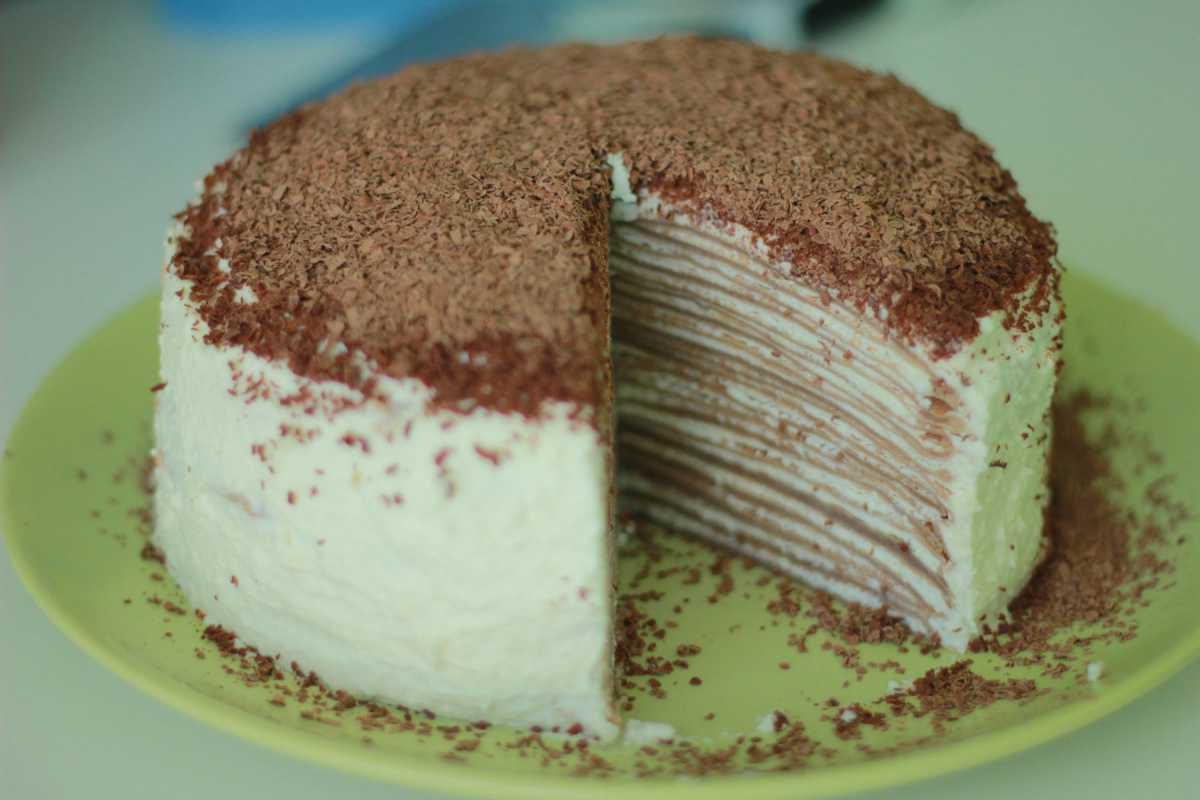 maxresdefault1 Необычное угощение– блинный торт