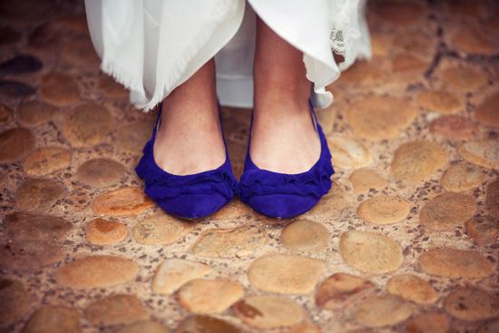 sinie-svadebnye-baletki Выбираем свадебные балетки: какой цвет и фасон оптимален у балеток на свадьбу
