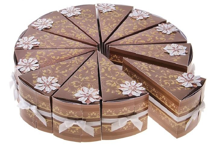 2-bonbonerki-v-vide-torta Выбираем стиль свадебных бонбоньерок