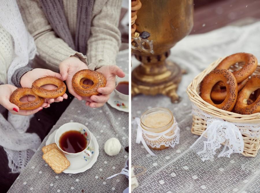 baranki-na-russkoj-svadbe-kak-dekor Как создать десертный стол для свадьбы в русском стиле без привлечения оформителей?