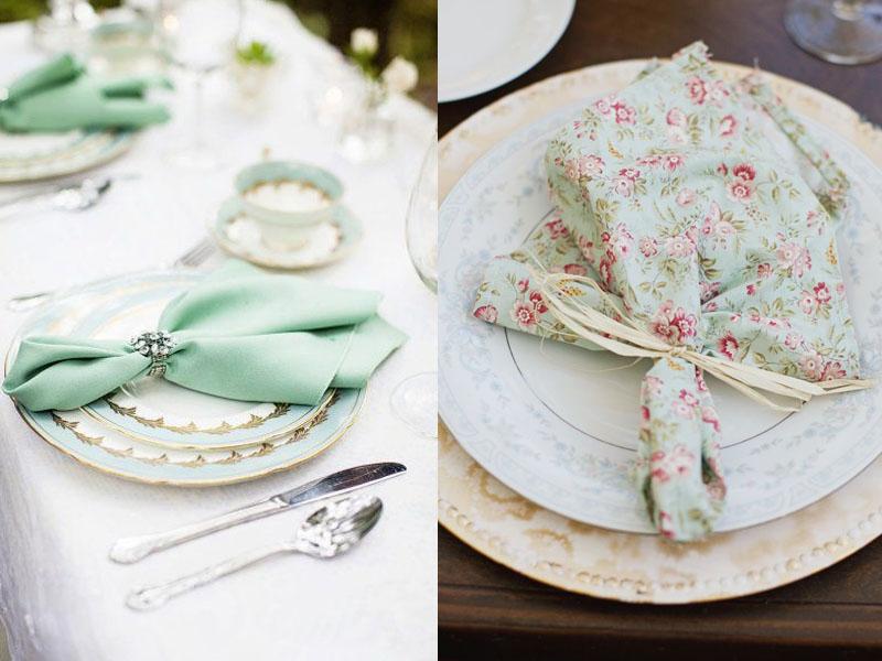 Салфетки в сервировке стола, необычный декор или простой предмет необходимости