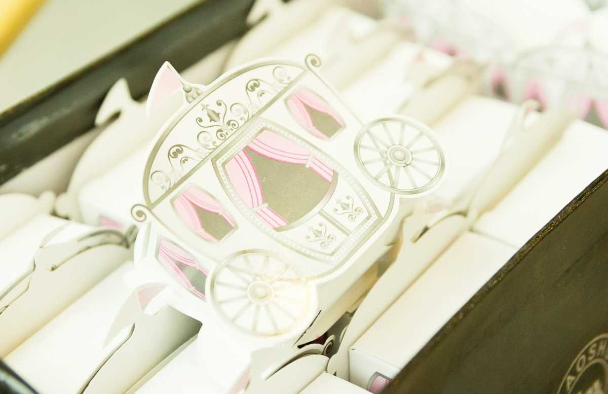 Выбираем стиль свадебных бонбоньерок