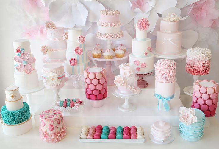ТОП-8 самых удивительных свадебных десертных столов со всего мира