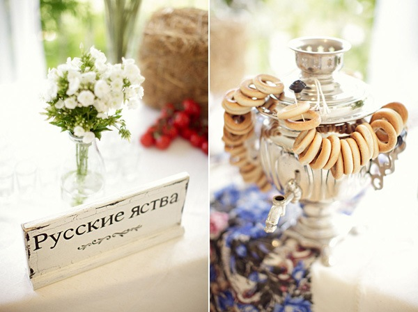 desertnyj-stol-v-russkom-narodnom-stile Как создать десертный стол для свадьбы в русском стиле без привлечения оформителей?