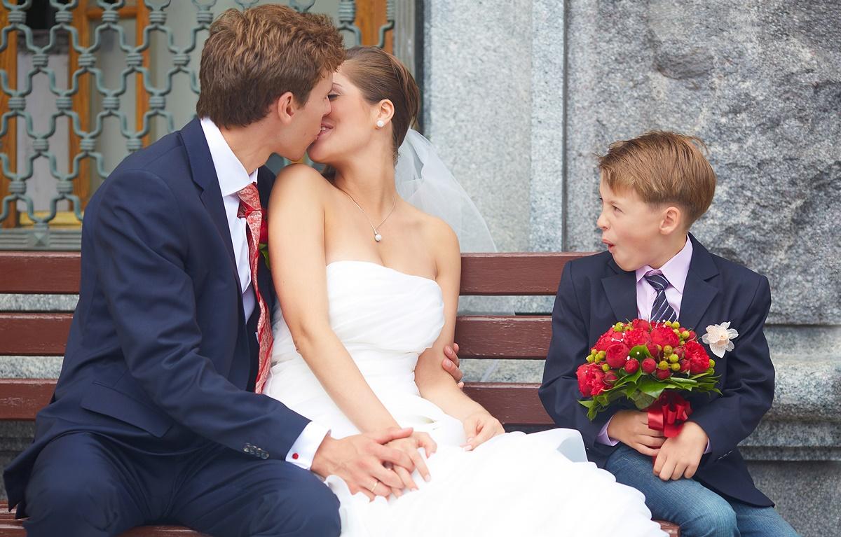 Дети на свадебной фотосессии