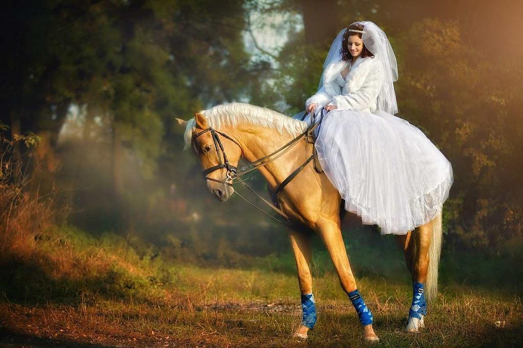 fotosessiya-nevesty-na-loshadi Свадебная фотосессия с лошадьми