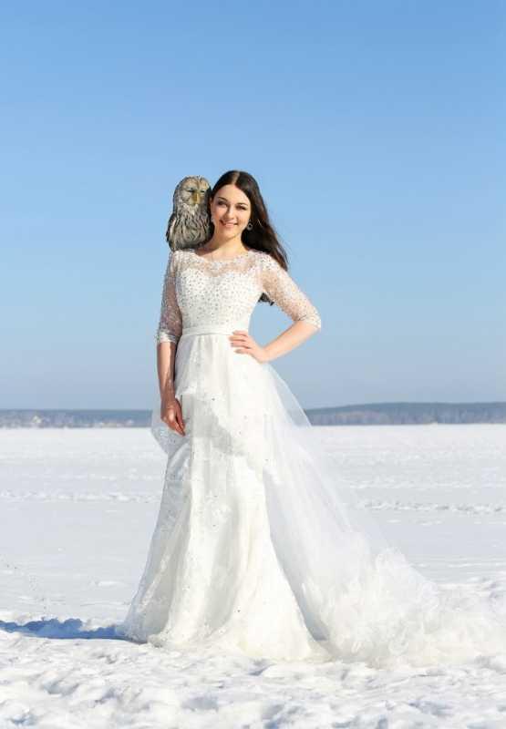 fotosessiya-s-sovami Удивительная свадебная фотосессия с живыми совами