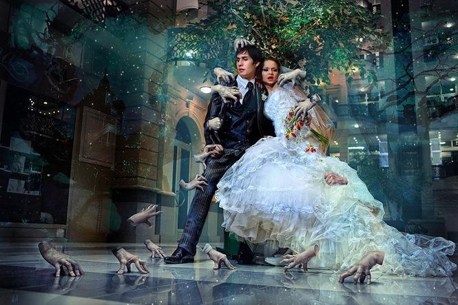 Обработка Свадебных Фотографий в Фотошопе - Фотошоп для всех | 443x665