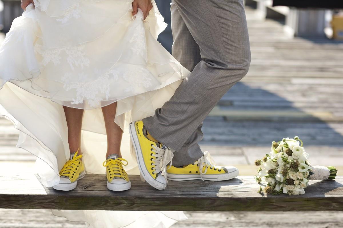 kedy-na-svadbe Кеды вместо туфель для невесты на свадьбу