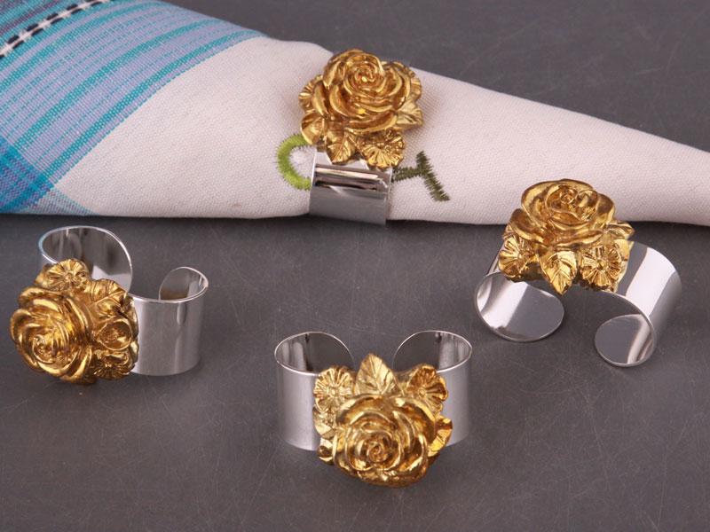 metallicheskie-koltsa-dlya-salfetok ТОП-10 колец для салфеток для сервировки свадебного стола