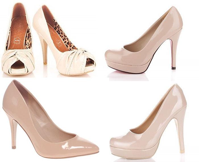 ottenki-bezhevyh-tufel-nevesty Бежевые туфли для невесты, стоит ли покупать?